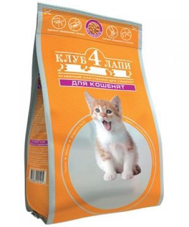 Фото - Корм для котят  Клуб 4 лапы  3f26e9dcd4bb0